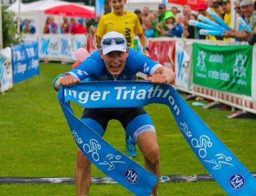 Erlanger Triathlon: Glücklich im Hamburger Schietwetter
