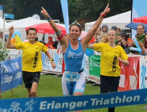 Viermal in Folge: Gottwald gewinnt Erlanger Triathlon