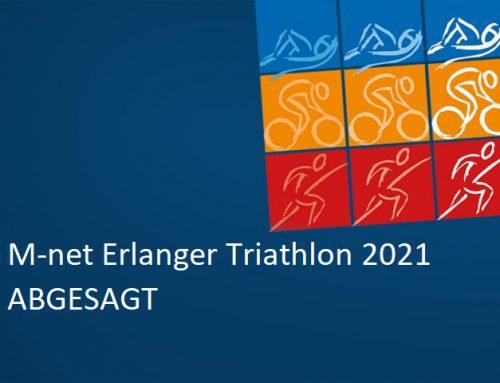 M-net Erlanger Triathlon 2021 ABGESAGT