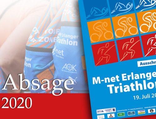 Veranstaltungsabsage 31. M-net Erlanger Triathlon 2020