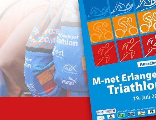 Die Kurzdistanz des M-net Erlanger Triathlons ist ausgebucht